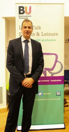 Peter Gunn, Chief Executive BH Live at the Department in 2013.