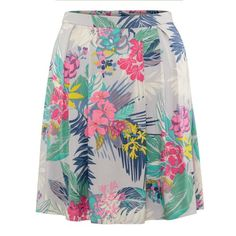 Oliver Bonas Bali Tropical Print Skirt by Anna Proctor