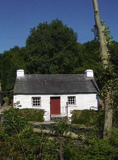 A typical Welsh cottage.