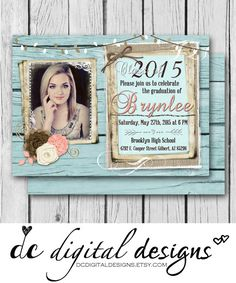 Country graduation invitation 2015 by kaylazimbaprintables on etsy country graduation invitation 2015 by kaylazimbaprintables on etsy graduation pinterest etsy grad parties and graduation ideas filmwisefo