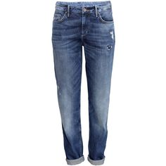 H&M Boyfriend Low Jeans (€28) ❤ liked on Polyvore
