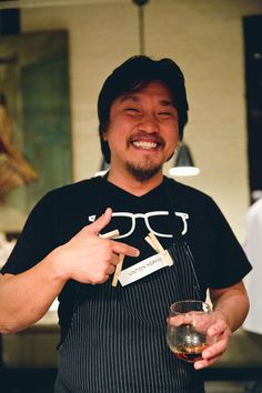 Chef Ed Lee at Sunday Supper South 2012 via LuxeCrush.com  Photo by Tim Redman