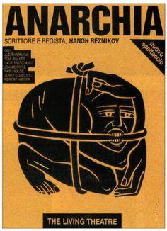 Poster for The Living Theatre DESIGNER/ILLUSTRATOR: Luba Lukova/Luba Lukova Studio - See more at: http://www.howdesign.com/design-creativity/theater-posters/#sthash.eX5yNOMx.dpuf