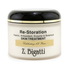 Re-Storation Skin Treatment Facial Cream (Luxury Size)  Women's 224g/8oz . A versatile skin care that repairs nourishes & protects skin in one go Boosts cell renewal & rejuvenates tired skin Minimizes appearance of fine lines & wrinkles Diminishes size of skin pores Dark spots fades & evens out skin tone Enhances skin firmness & sticity Perfect for all skin types