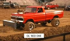Truck And Tractor Pull, Tractor Pulling, Truck Pulls, Ford Girl, Classic Ford Trucks, Logging Equipment, 4x4 Off Road, Old Tractors, Old Fords