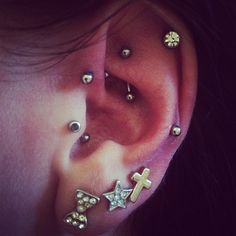 Great pic of Piercings!!!! Instagram photo from @jenniebaby_xox
