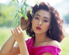 Korean actress in the 80's