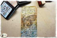 Tammy Tutterow | The Beauty of Flying Art Tag Tutorial