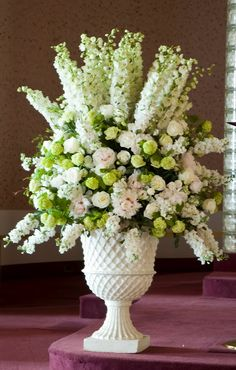 Charlotte Design: Weddings - Ceremony flowers