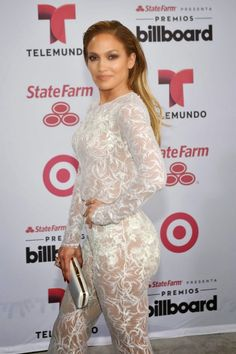 Binoculars Magazine: Super Star; Jennifer Lopez Rocking the Sexy Sheer White Lace
