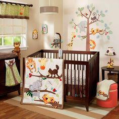 Lambs & Ivy® Treetop Buddies Crib Bedding Collection - buybuyBaby.com