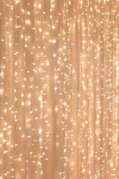 Drape Lights - like glittering stars.