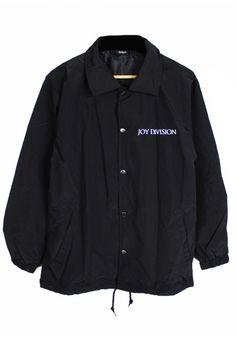 Shop :: Agora :: Coach Jackets :: Unknown Pleasures Coach Jacket - Agora Clothing Products | Snapbacks | 5 Panels |