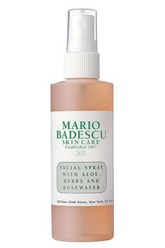 This my FAVORITE Mario Badescu product. It's not a NECESSITY unless you're flying, but it feels so luxe. ♥ ♥ Mario Badescu Rose Water Spray-so refreshing. Beauty Essentials, Beauty Hacks, Beauty Tips, Purse Essentials, Beauty Secrets, Top Beauty, Clean Beauty, Piel Natural, Beauty Makeup