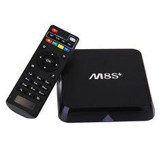 M8S Plus Android 5.1 Amlogic S812 Quad Core 2G/8G 2.4G/5G Gigabit LAN BT4.0 TV Box Android Mini PC