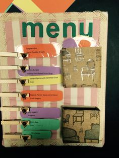 A DIY menu planner tutorial to help you get your meal planning on track! *****