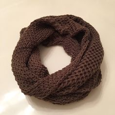 A personal favorite from my Etsy shop https://www.etsy.com/listing/260173945/25-salebrown-infinity-knit-loop
