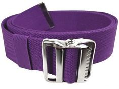 LiftAid Walking Gait Belt and Patient Transfer with Metal Buckle and Belt Loop Holder for Nurse, Caregiver, Physical Therapist (Purple, Best Leather Belt, Mobility Aids, Physical Therapist, Injury Prevention, Height And Weight, Metal Buckles, Caregiver, Walking, Purple