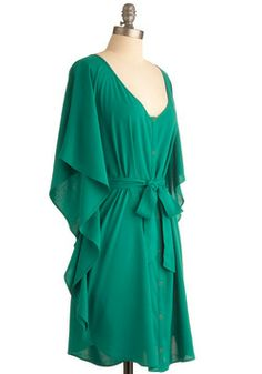 St Pats maybe... You and Me Forever Dress in Green, #ModCloth