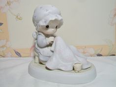 Vintage Precious Moments Figurine Love Covers by ALEXLITTLETHINGS