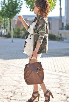 24 Military clothing- fashion trend for this season