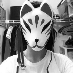"""I love my new fox mask."""