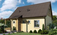DOM.PL™ - Projekt domu ARX EWELINA CE - DOM RX2-05 - gotowy projekt domu