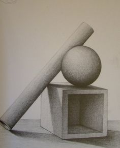 cylinder and around by on DeviantArt -square cylinder and around by on DeviantArt - Geometric Shapes Drawing, Art Drawings Simple, Art Painting, Perspective Drawing Architecture, Shape Art, Art Drawings, Geometric Drawing, Object Drawing, Pencil Art Drawings