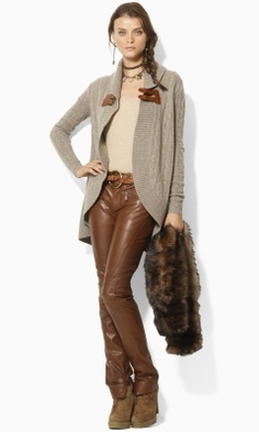Ralph Lauren; this sweater is amazing