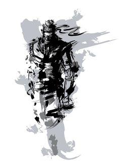 Solid Snake Metal Gear Solid by Hayate94