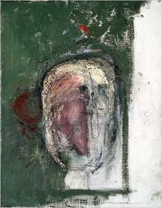 """Demencia: autorretrato de William Utermohlen (""""Dementia: self-portrait of William Utermohlen""""). William Utermohlen. 2000. Localización: Colección particular. https://painthealth.wordpress.com/2016/04/19/demencia-autorretrato-de-william-utermohlen/"""