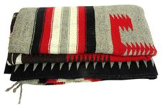 Saltillo Navajo-Style Camp Blanket by Ruby + George on @