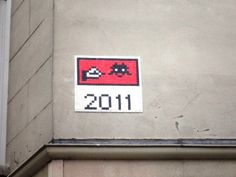Space Invader Rue de la Folie Méricourt (75011)