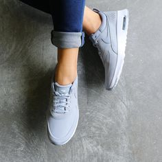 Friday fave  The Nike Air Max Thea Premium are super sleek, chic and the perfect addition to your off duty wardrobe!  Get your pair of these must have kicks at Stylerunner.com #stylesquad #stylerunner