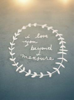 <3 ... love beyond measure ... <3