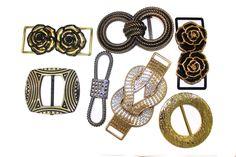 7 PCS Bulk Lot of Unique Buckles For Belts, Jewelry, Fashion and Embellishments #etsyfinds #handmadeshop #fashionista #haberdashery