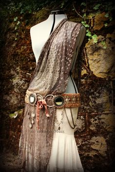 Astapor Bellydance Belt XL 42 Inch Tribal Fusion by theverdantmuse, $250.00