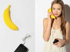 29 Banana-Shaped Designs - From Banana Heels to Fruity Flash Drives