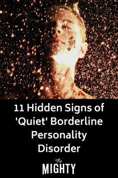 11 Hidden Signs of 'Quiet' Borderline Personality Disorder - New Ideas Borderline Personality Disorder Signs, Boarderline Personality Disorder, Avoidant Personality, Mental Health Disorders, Stress Disorders, Panic Disorder, Anxiety Disorder, Bipolar Disorder Signs, Bi Polar Disorder Symptoms
