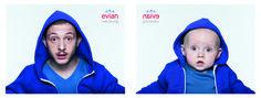"""""""Baby and Me"""": la nouvelle campagne très réussie d'Evian et BETC"""