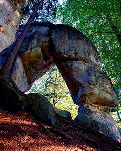 Rock town around Hrubá Skála - Bohemian Paradise (East Bohemia), Czechia #landscape #nature #Czechia #czechlandscape