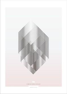 Geometric Exercises - Graphic Poster Design by Sebastián Correa by glenfiddichgal