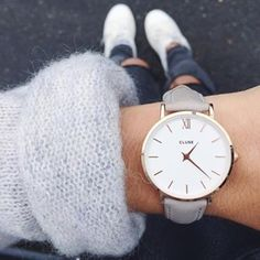 Jamais sans ma @clusewatches ⌚️Bonne nuit | #weekend #friday #enattendantsecret #ootd #clusewatches #cluse #october #fall #autumn15