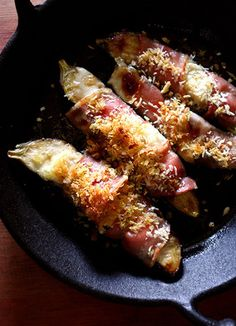 xx...tracy porter..poetic wanderlust...-Grilled Bacon Wrapped Eggplant