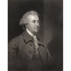 Edmund Burke 1729 To 1797 Anglo Irish Statesman Parliamentary Orator And Political Thinker Engraved By H Robinson After Sir J Reynolds From The Book National Portrait Gallery Volume Iii Published C 18
