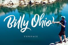 Billy Ohio Typeface by alit design on @creativemarket