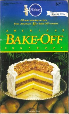 Vintage  Pillsbury  America's BakeOff Cookbook  by ShopHereVintage