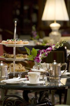 """Traditional English """"High Tea"""" - Brown Palace (Downtown Denver) - Not a snack - this is an event!!"""