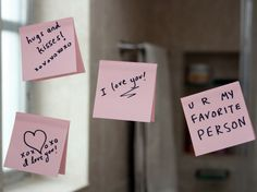 Hand written love notes have been lost to text messages, emails, and the spoken word. Here are 7 reasons you should begin hand writing love notes again! Cute Notes For Boyfriend, Love Notes For Him, Creative Gifts For Boyfriend, Cute Boyfriend Gifts, Cute Things To Do For Your Boyfriend, Boyfriend Quotes, Surprise For Him, Youre My Person, Sticky Notes