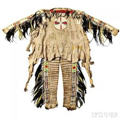 Plains Masterpiece Leads Skinner's May 6 Auction of American Indian & Ethnographic Art Native American Clothing, Native American Artifacts, Native American Beadwork, Native American Indians, Native Americans, Male Clothing, Cree Indians, Indian Artifacts, Native Indian